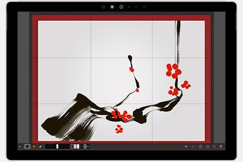 Zen Brush 2 for Windows 10 - Simple Ink Brush Tool - PSOFT